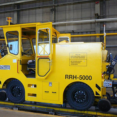 elektrische diesel of hybride rangeervoertuigen