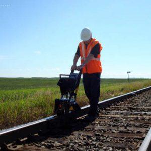 Inspectie van spoorinfrastructuur