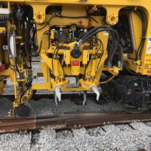 spoorstopmachines voor het onderstoppen van sporen