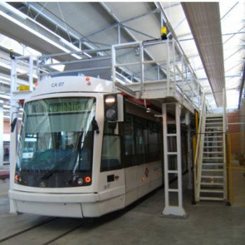 V2 Consult werkplatformen voor treinen trams en metro