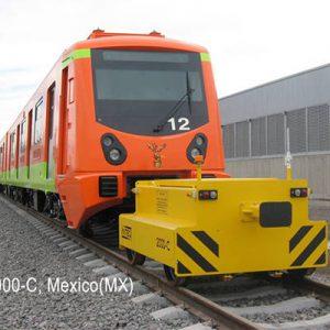 Les vehicules locotracteurs sont lies aux rails ou a la voie ferree bidirectionnels