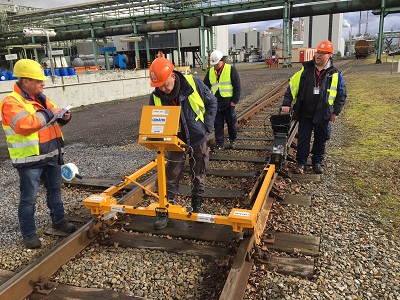 Rail inspection (geometry) (Covestro - Antwerp)