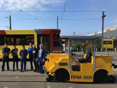 Rangeervoertuigen tweeweg tractievoertuigen rangeren treinen (TEC - Jumet)