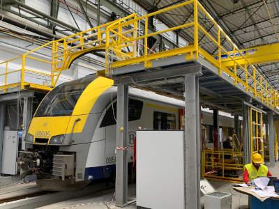 Werkplatformen (NMBS - CW - Mechelen)