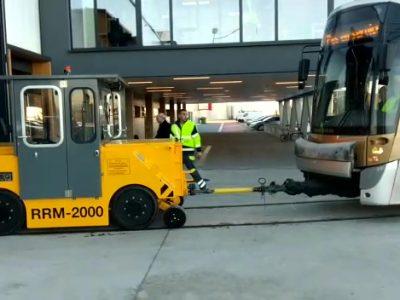 rail weg voertuig tram MIVB