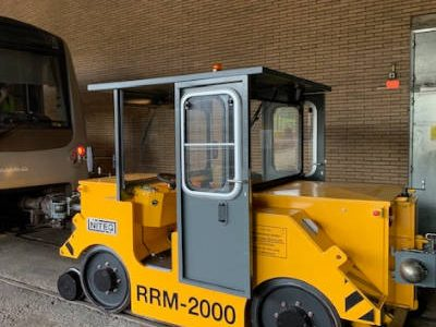 rail-road shunting vehicle metro STIB