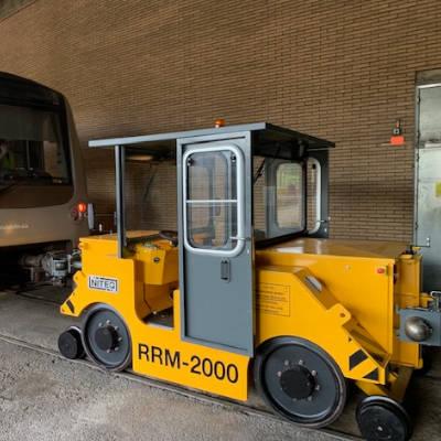 rail-road shunting vehicle metro STIB